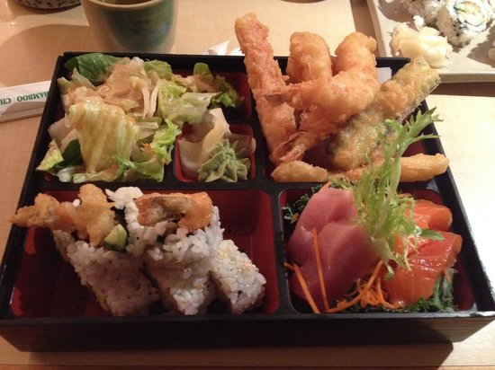Shogun Japanese Steakhouse: Bento Box