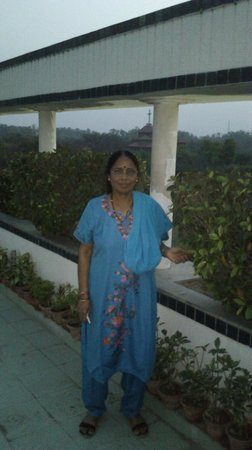 Hotel Vaibhav: Hotel Terrace