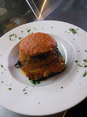 SARACINO'S: Vegetable Timbale