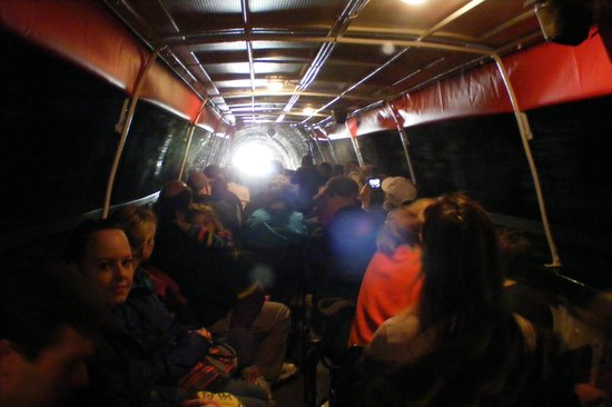 Jason's Trip: Going through a tunnel on the canal