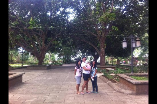 Plaza Cuartel : Lots of trees and shade! :)