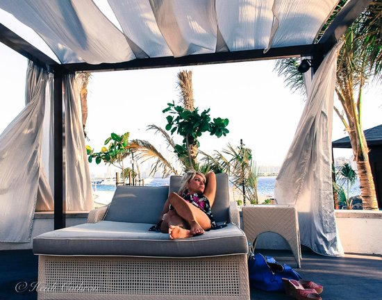 Waldorf Astoria Dubai Palm Jumeirah: nice breeze