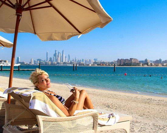 Waldorf Astoria Dubai Palm Jumeirah: beach