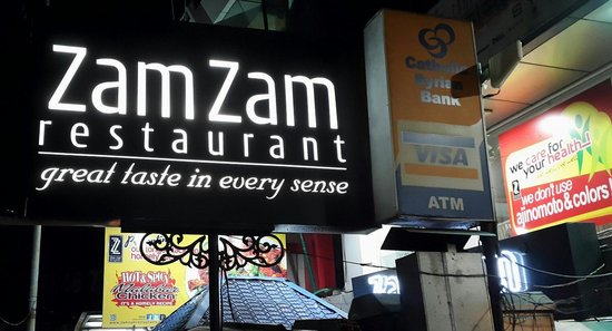 Zam Zam Restaurant: Great family restaurant for Kerala non-veg