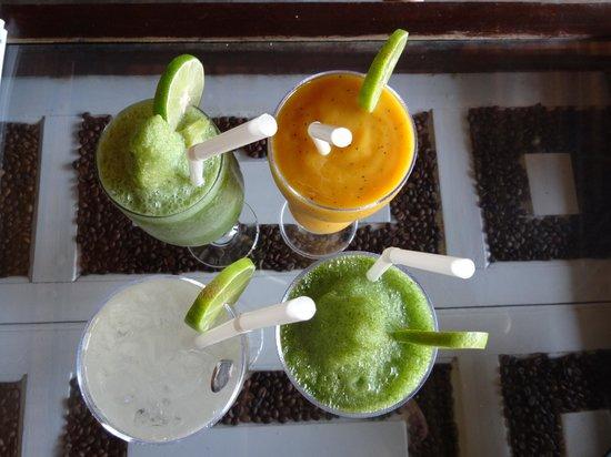 Crepe-ology : yummy fruit drinks