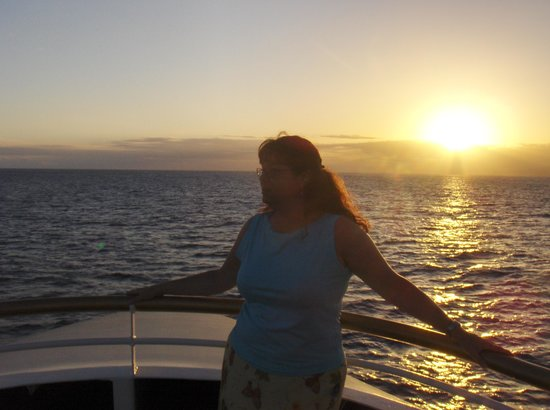 RumFire: Nothing beats a Hawaiian sunset!
