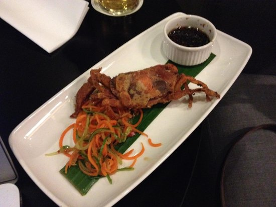 The Gibson Hotel: Soft shell Crab
