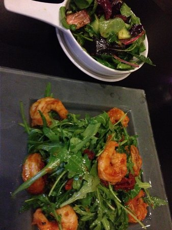 The Gibson Hotel: Shrimp Salad