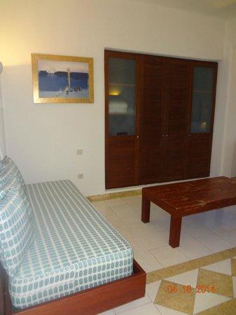 Petinos Beach Hotel : deluxe ocean view room