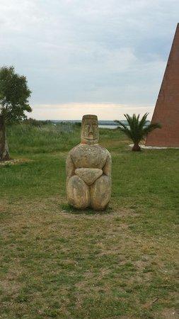 Museo Civico Giovanni Marongiu: Giardino del museo