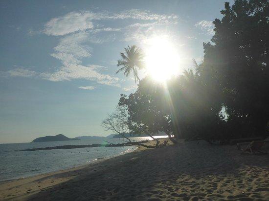 Good Time Resort Koh Mak: Ao Kao White Sand Beach