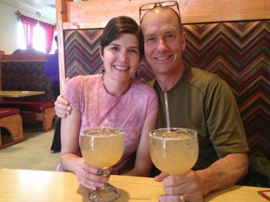 Gustavo's Mexican Restaurant & Bar : Big strong margs!