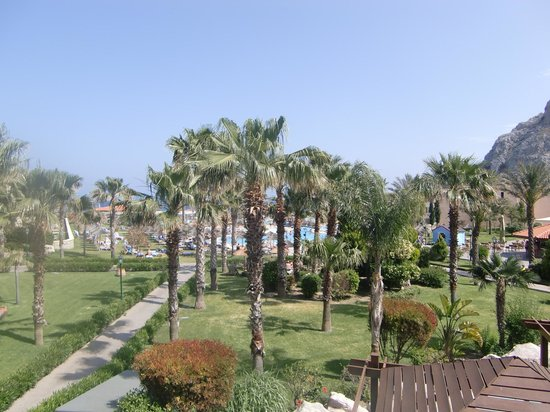 Atlantica Aegean Park : Utsikt:-)