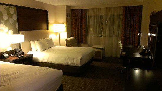 Hilton Atlanta Airport: Bedroom