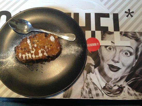 Carthel : Pain perdu caramel beurre salé