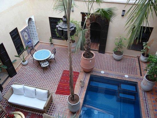 Riad Hadda: Le patio