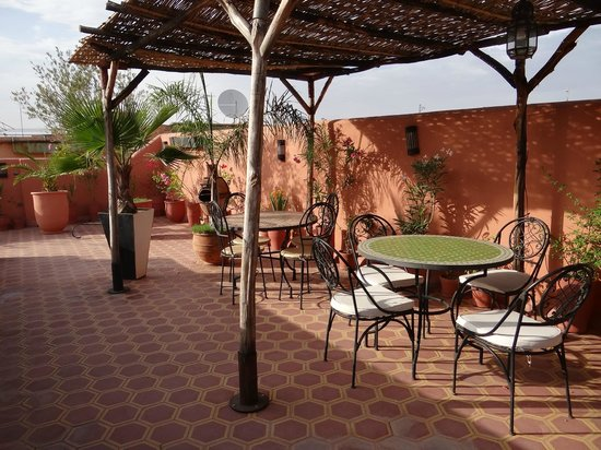 Riad Hadda : La terrasse