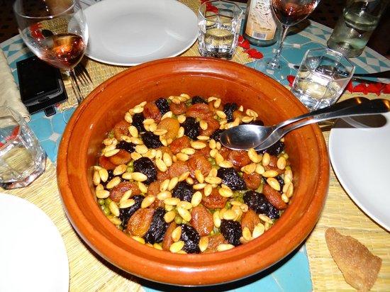 Riad Hadda : Tajine pruneaux/abricots