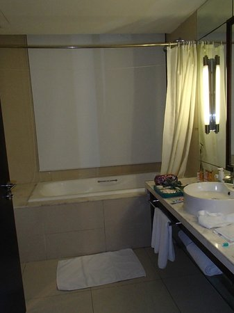 Liaoning International Hotel: View of bathroom from toilet