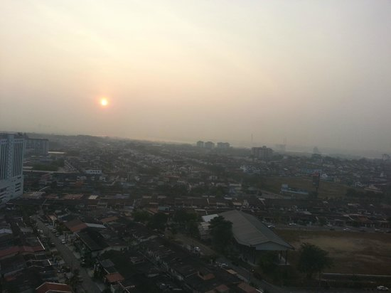 KSL Hotel & Resort: Day view from the high floor