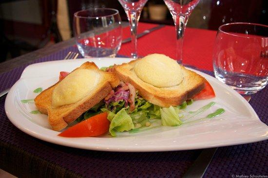 La Ripaille : Salade de chèvre chaud