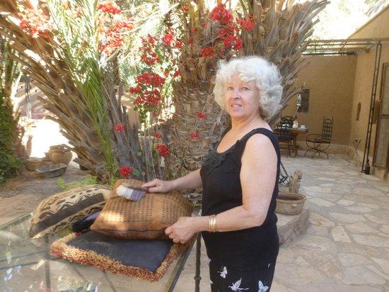 """Chez Pauline Ferme d'hotes: Chantal bei """"Chez Pauline"""""""