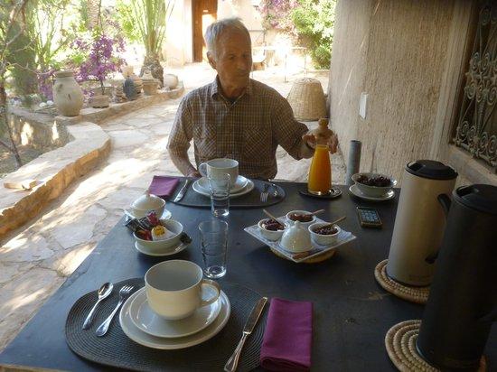 """Chez Pauline Ferme d'hotes: Frühstück bei """"Chez Pauline"""""""