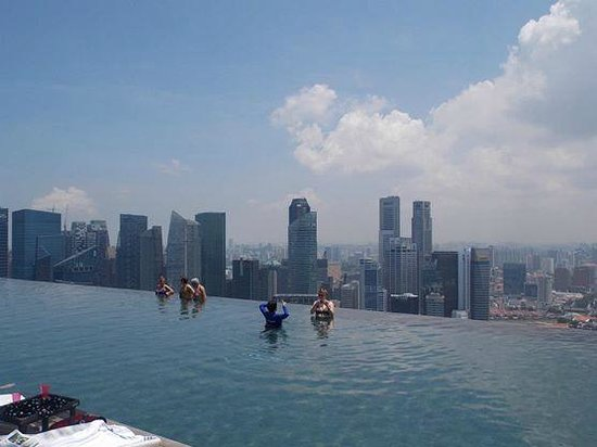 Marina Bay Sands: View from the Pool