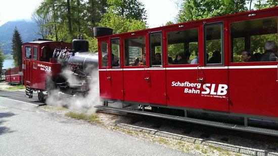 SchafbergBahn: Going up