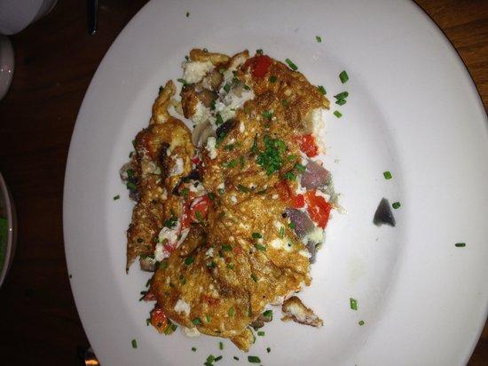 City Hotel: The best egg white omelet ever!