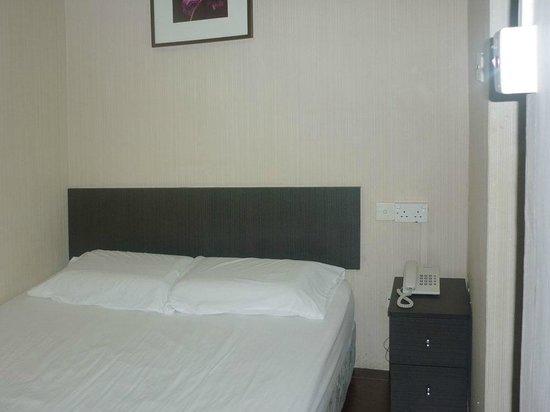Amrise Hotel: standard double room (3rd floor)