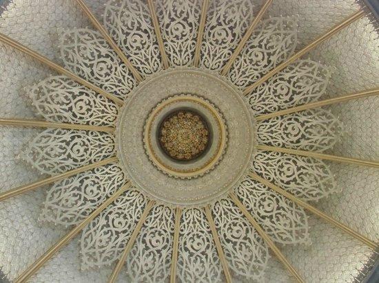 Monserrate Palace: No centro do tecto da sala de música.