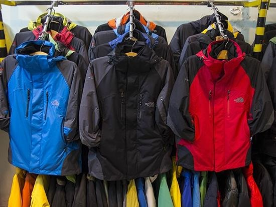 Factory Outlet: The North Face - Winter Jackets for men