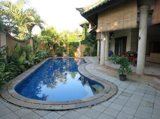 Bali Diamond Villas: Villa pool area