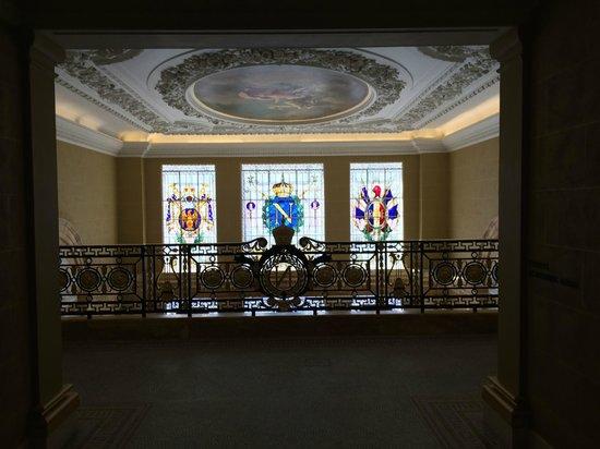 Hotel Cafe Royal: Above the entrance