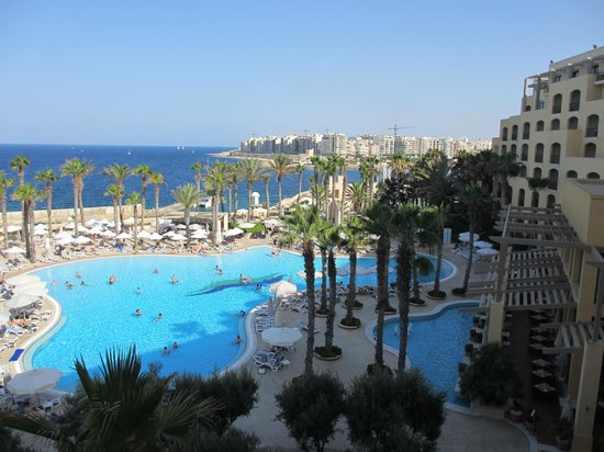 Hilton Malta: Room with a view