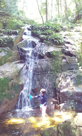 Mount Santubong: The waterfall