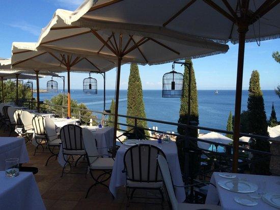 Hotel Il Pellicano : Ah! Main Dining Area