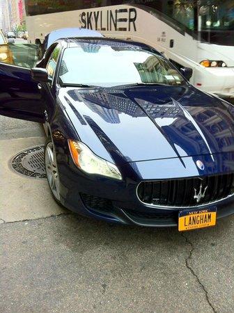 Langham Place, New York: Hotel car