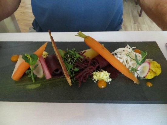 The Croft Kitchen: Barony smoked venison, starter