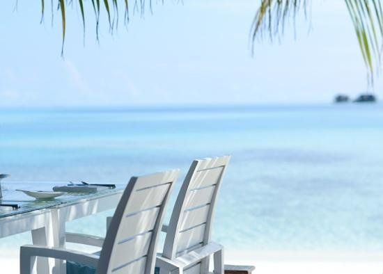 Conrad Maldives Rangali Island: завтрак