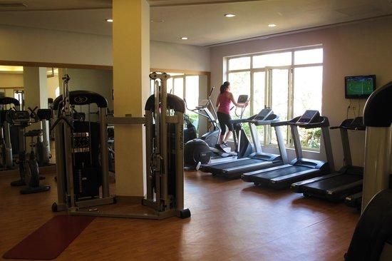 Pilot Beach Resort: Fitnessroom