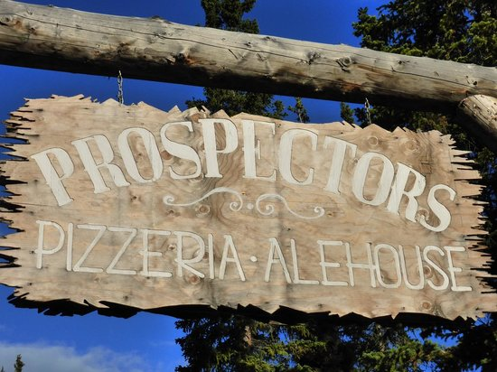 Prospectors Pizzeria & Alehouse: sign