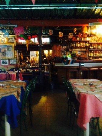 Rosa's Cantina: Bar Area