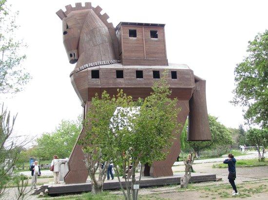 Troy (Truva) : koń trojański