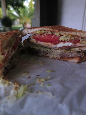 Alfred's Kitchen sandwich