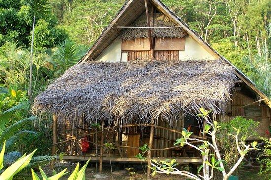 Pension Tupuna: bungalow bord de lagon