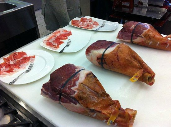 Food Valley Travel & Leisure: Prosciutto di Parma selection