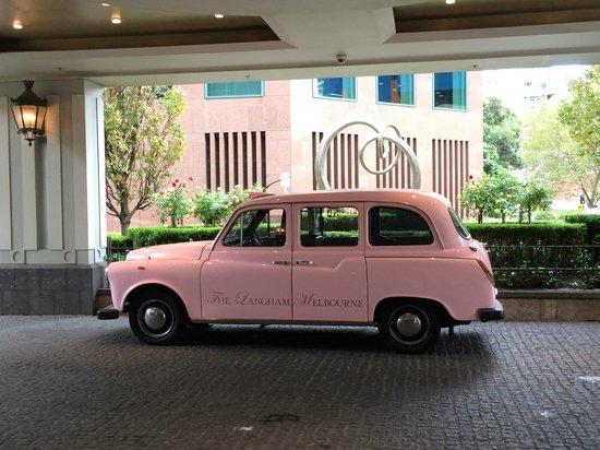 The Langham: Beautiful Car