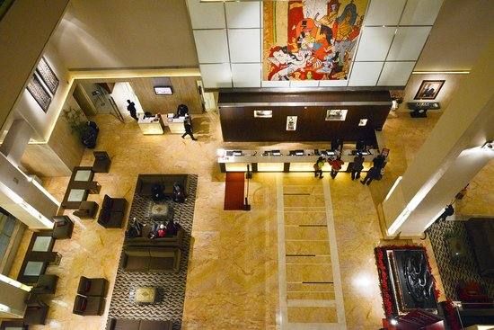The Lalit New Delhi: The Lalit  Lobby